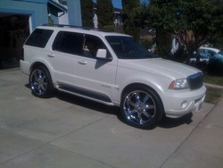 gotchuthinkin 2004 Lincoln Aviator
