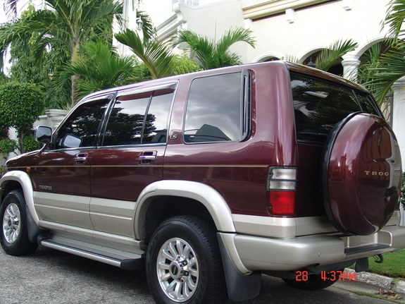 2002 isuzu trooper repair manual