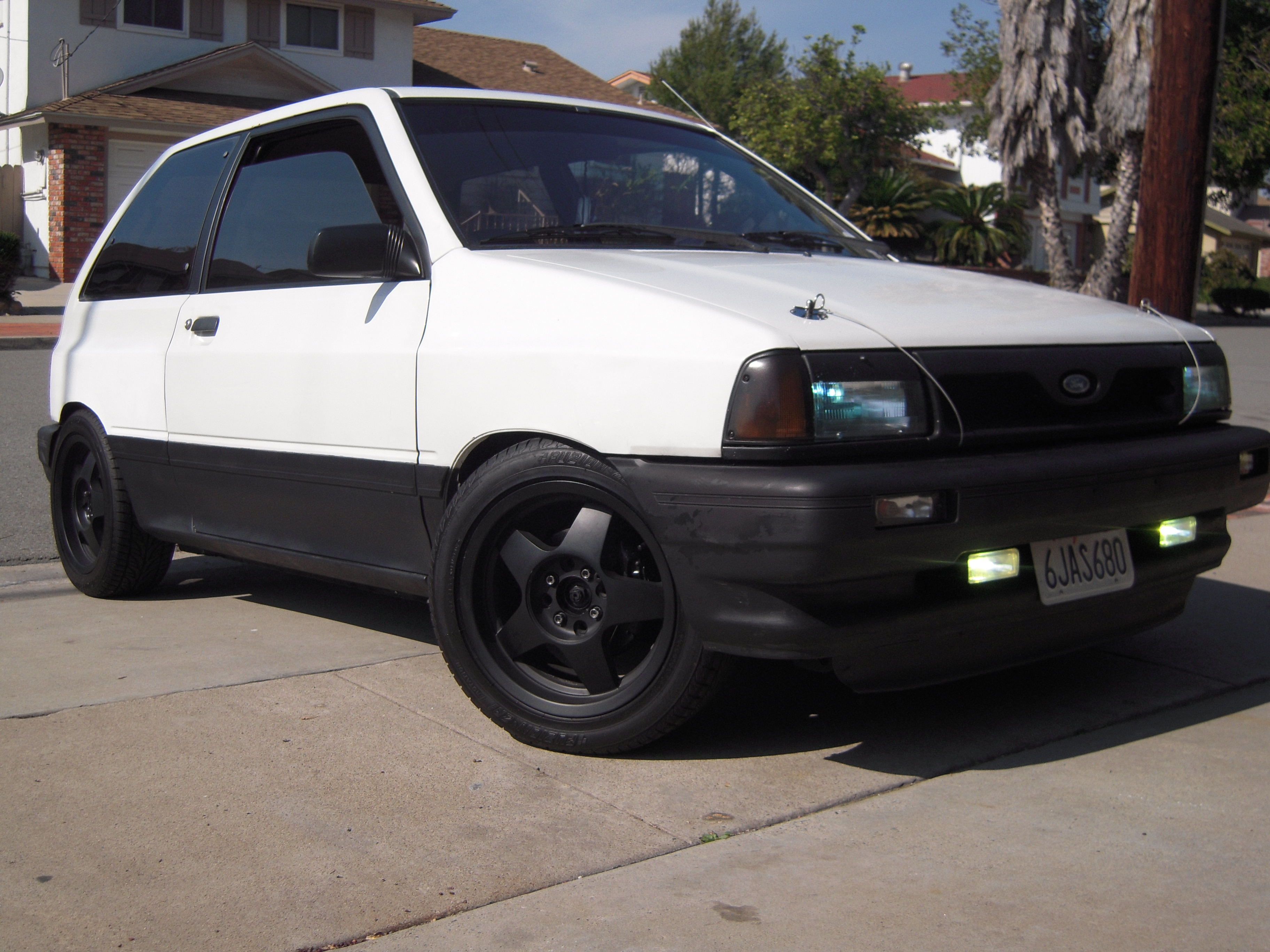THE WRENCHs 1990 Ford Festiva
