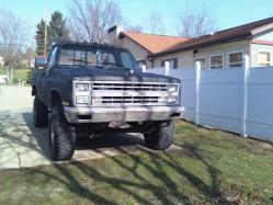 1985 Chevrolet Silverado 2500 Regular Cab