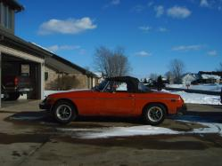 ChevyPride350s 1975 MG MGB