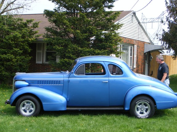 Dfirecop 1938 Pontiac Business Coupes Photo Gallery At Cardomain
