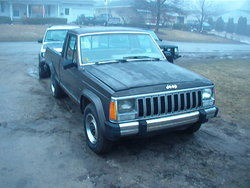 Humvee710s 1987 Jeep Comanche Regular Cab