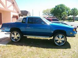 CUTLAZZBOY 1987 Oldsmobile Cutlass Salon