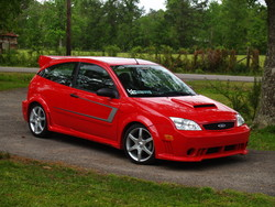 Bad_boy_red 2005 Ford Focus