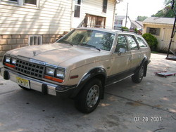 EagleKammback 1983 AMC Eagle