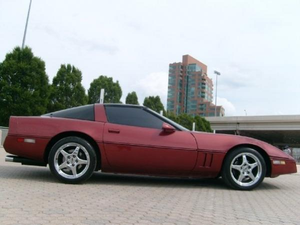 New here, with a 1986 Corvette Modified Custom Coupe ...
