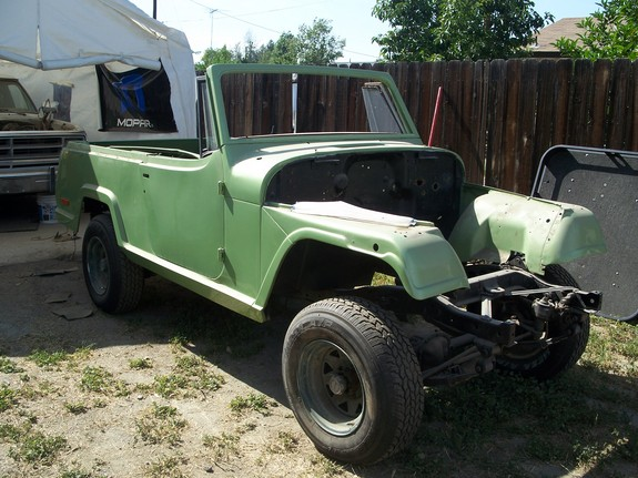 Mopar4406's 1968 Jeep Commando