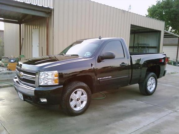 LA_BLACK 2008 Chevrolet Silverado 1500 Regular Cab Specs ...