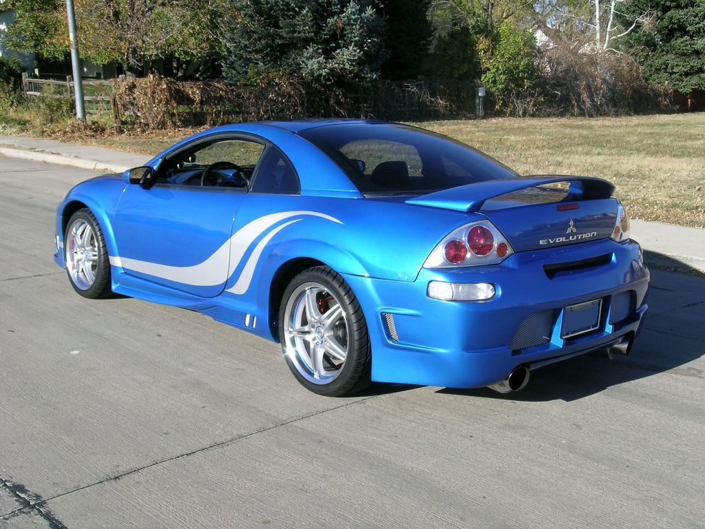 bluebombershell 2003 mitsubishi eclipse specs photos modification info at cardomain. Black Bedroom Furniture Sets. Home Design Ideas