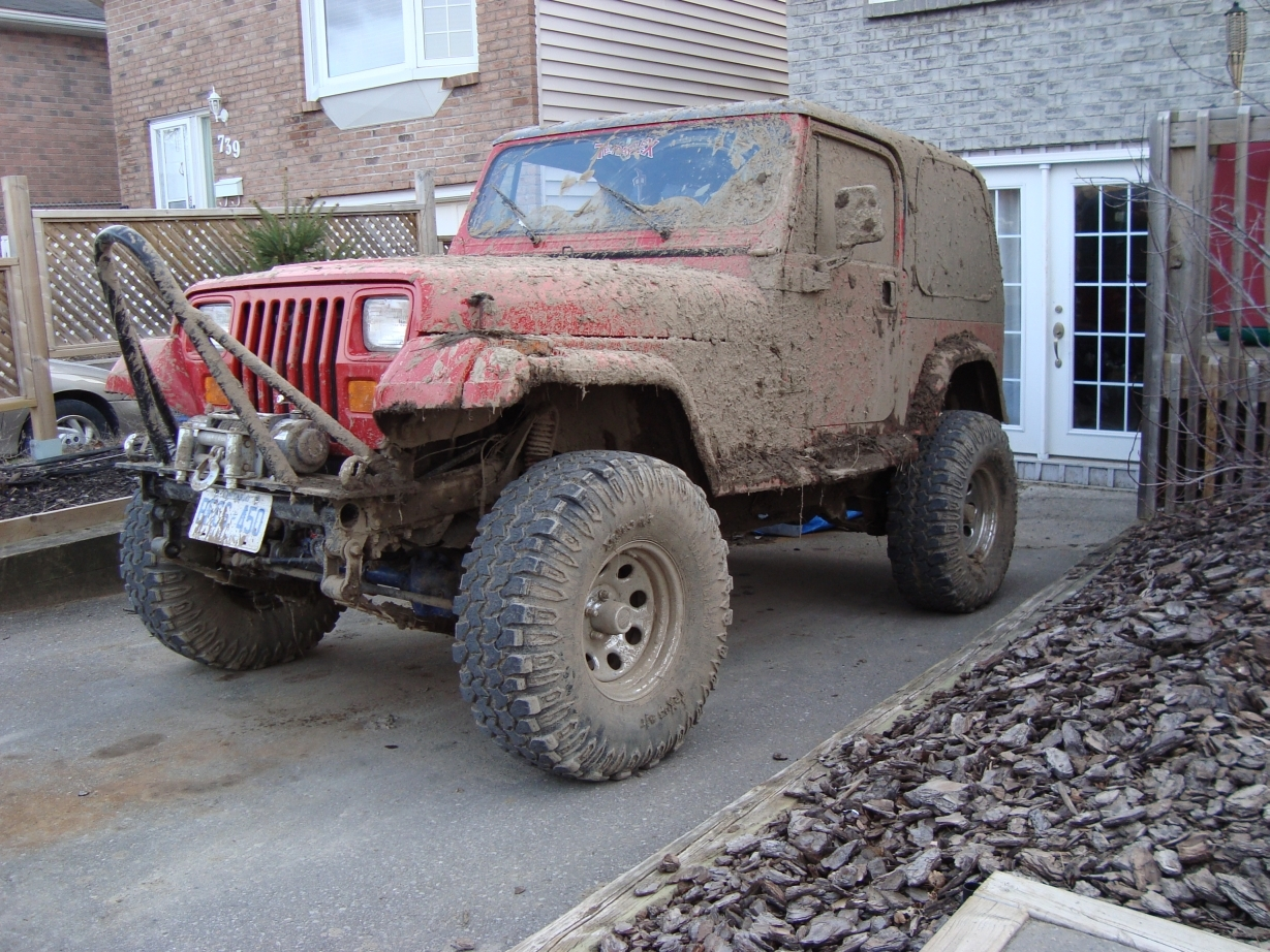 Another houseman 1993 Jeep YJ post... - 11401814