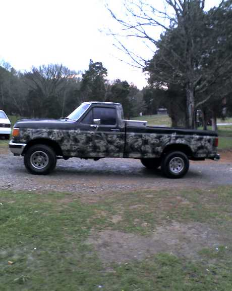 camo cadillac 89 1989 ford f150 regular cab specs photos. Black Bedroom Furniture Sets. Home Design Ideas