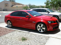 G8Driver_8s 2008 Pontiac G8