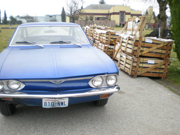 1969 Chevrolet Corvair Series Technical Specifications and data ...