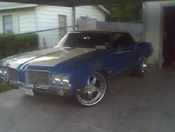 G_Man66 1971 Oldsmobile Cutlass Supreme