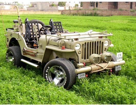 DKANG's 1983 Jeep Willys