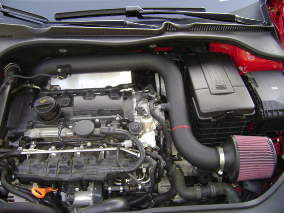 Picture of GTi engine from top without cover - VW GTI Forum / VW Rabbit Forum / VW R32 Forum ...