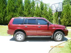 monterosport01s 2001 Mitsubishi Montero Sport