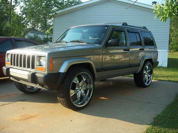 Another BAD AZZ Z71 2000 Jeep Cherokee post... - 11444697
