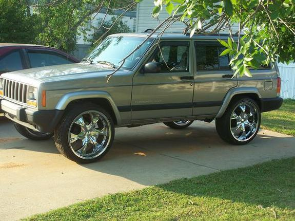 Another BAD AZZ Z71 2000 Jeep Cherokee post... - 11444698