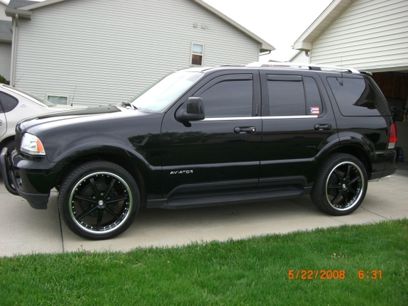 the one 1 2003 lincoln aviator specs photos modification. Black Bedroom Furniture Sets. Home Design Ideas