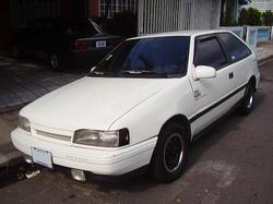 M_Phillips 1990 Hyundai Excel