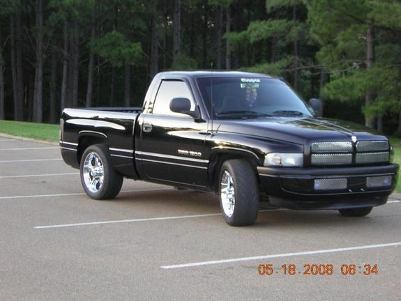 Large on 1997 Dodge Ram 1500 Lowered
