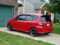 1sportyfits 2007 Honda Fit