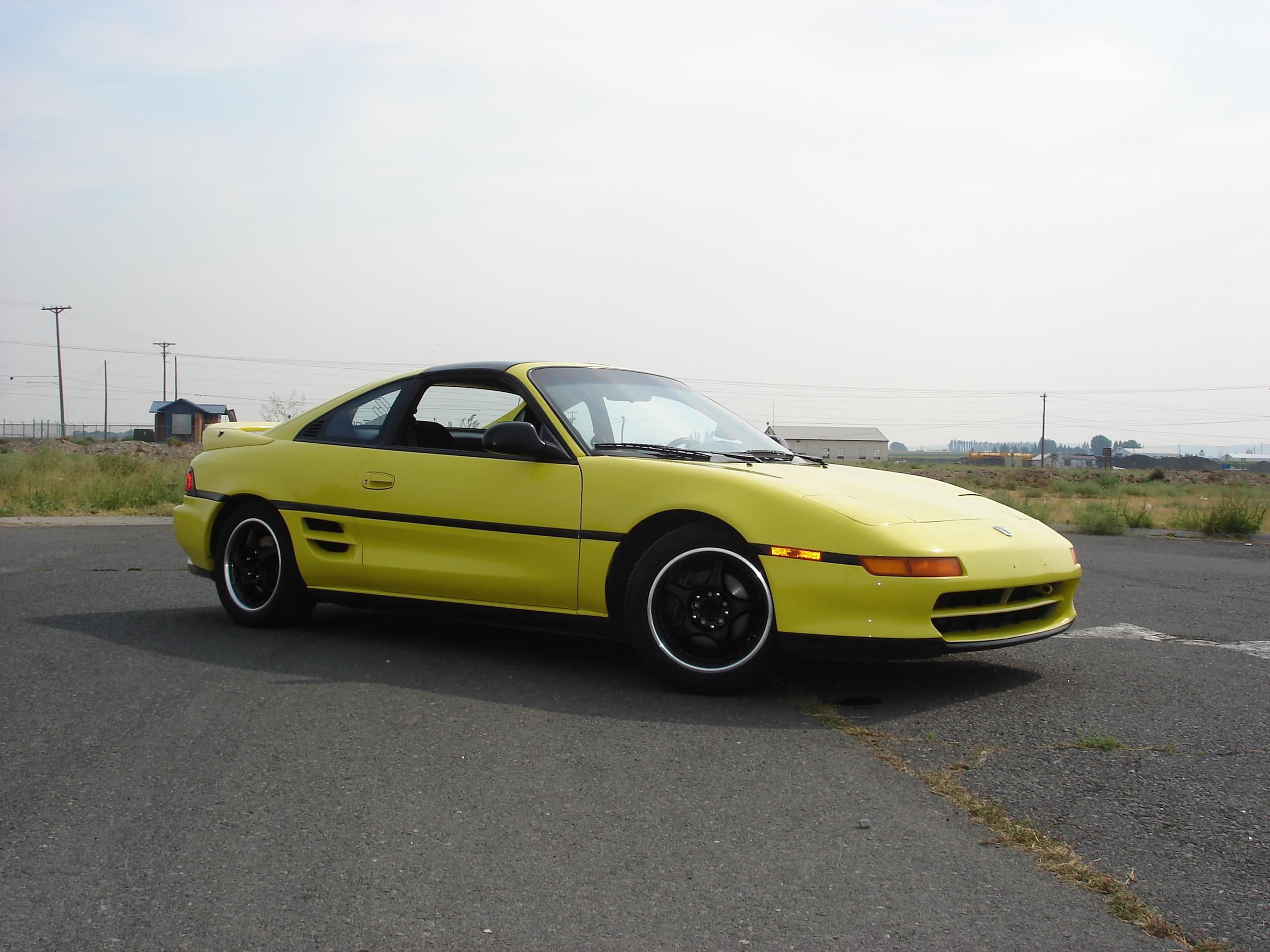 YELOW_MR2 1991 Toyota MR2 11473019
