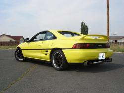 YELOW_MR2s 1991 Toyota MR2
