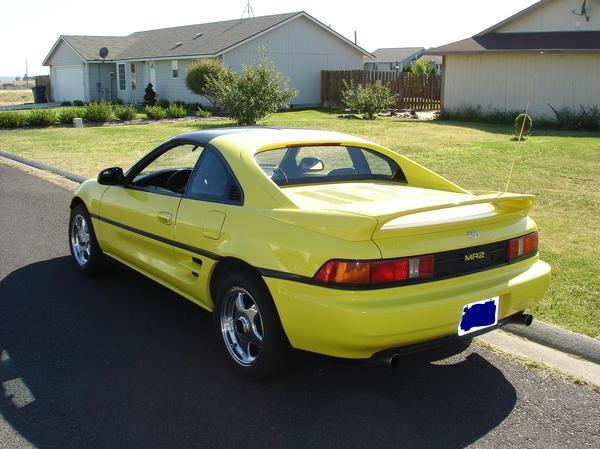 YELOW_MR2 1991 Toyota MR2 6612700