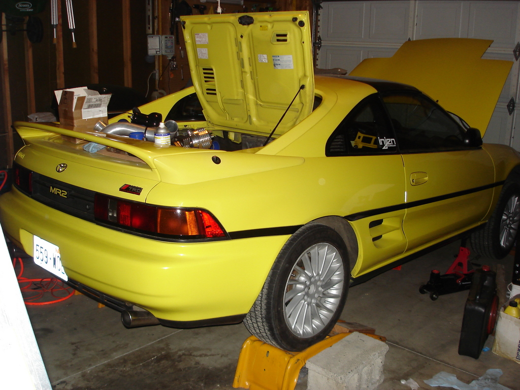 YELOW_MR2 1991 Toyota MR2 6613122