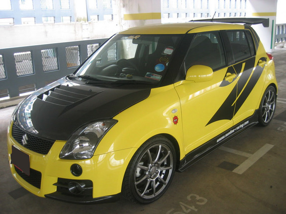 headstomp 2007 suzuki swift specs photos modification info at cardomain. Black Bedroom Furniture Sets. Home Design Ideas