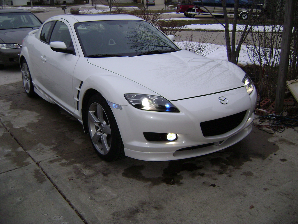 white rx8 2005 mazda rx 8 specs photos modification info. Black Bedroom Furniture Sets. Home Design Ideas