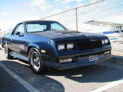 84SScccs 1984 Chevrolet El Camino