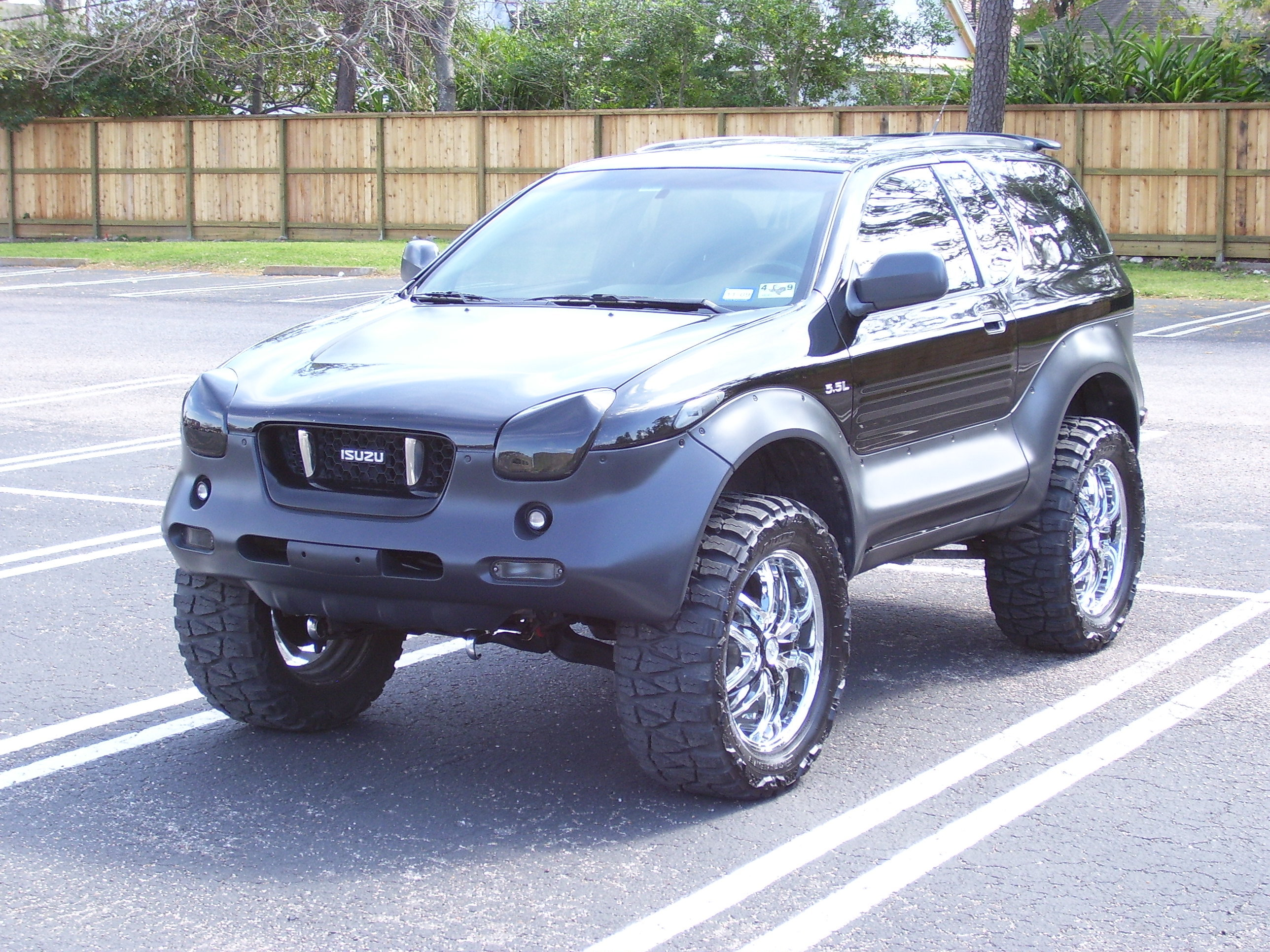tenman 2001 isuzu vehicross specs  photos  modification