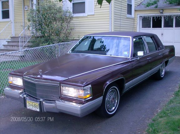 fleetwoodrider 39 s 1990 cadillac fleetwood in linden nj. Cars Review. Best American Auto & Cars Review