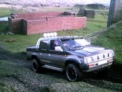 King_Dong 1990 Nissan D21 Pick-Up