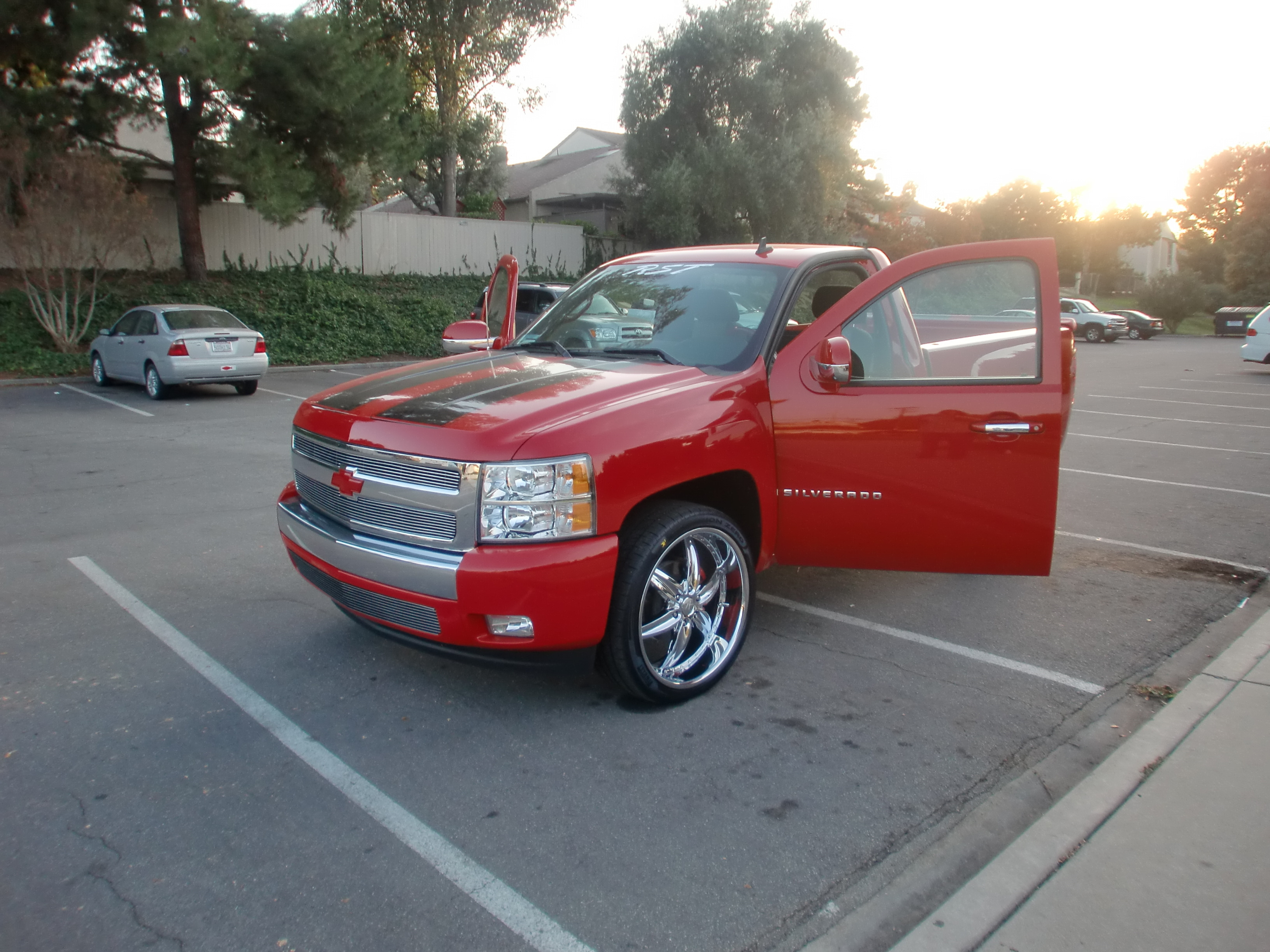 Another red54 2008 Chevrolet Silverado 1500 Regular Cab post... - 11494993