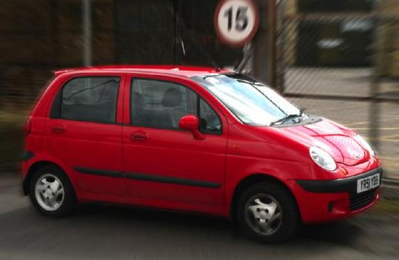 x-sweet-thing-x 2001 Daewoo Matiz