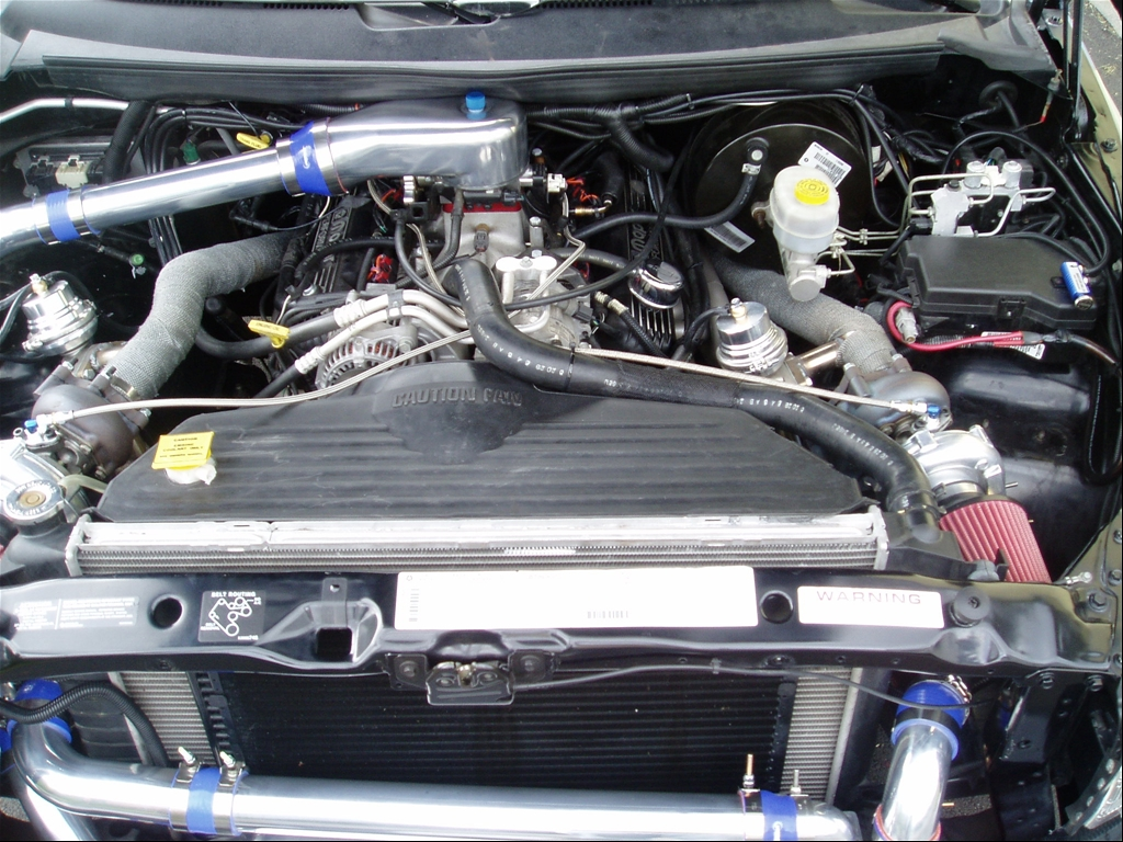 Dodge Ram 1500 Turbo Kit