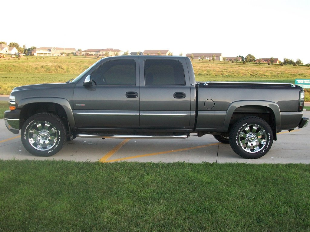 250forlife 2002 chevrolet silverado 2500 hd crew cabshort. Black Bedroom Furniture Sets. Home Design Ideas