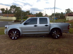 DreamTE 2005 Holden Rodeo