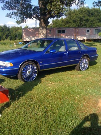 a1kandy 39 s 1993 chevrolet caprice in pine bluff ar. Black Bedroom Furniture Sets. Home Design Ideas
