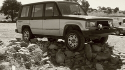 B_Pike 1988 Isuzu Trooper II