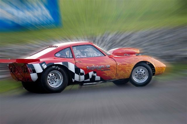 Opel gt drag car