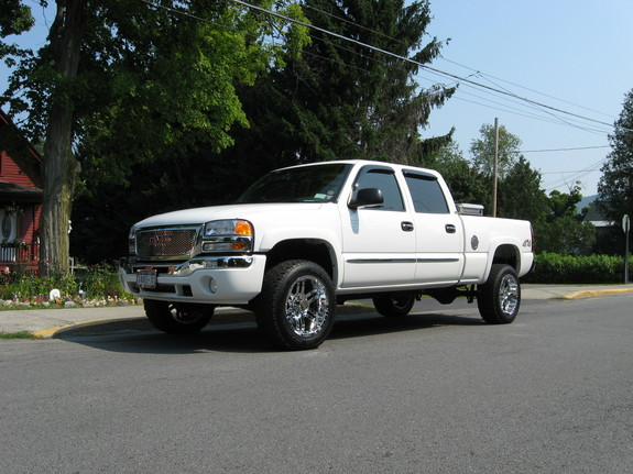 20inch8lug 2006 gmc sierra 1500 hd crew cab specs photos modification info at cardomain. Black Bedroom Furniture Sets. Home Design Ideas