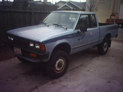 thebicyclejungle 1986 Nissan 720 Pick-Up