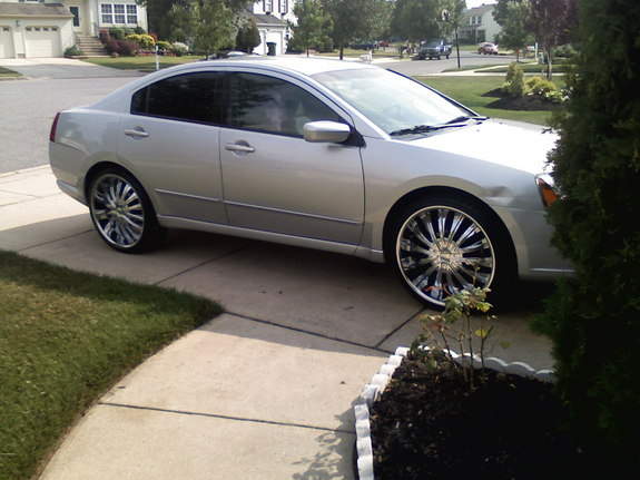 Gallery For > 2010 Mitsubishi Galant With Rims