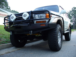 mikedamageincs 1997 Toyota Land Cruiser